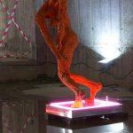 """без заглавие"" /she ORANGE/, 160x85x90cm, 2015"